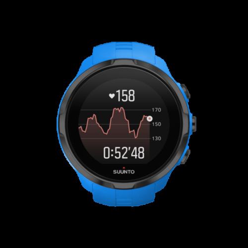 _SS022663000 - SPARTAN - Sport Wrist HR Blue - Front View_TR-Running basic G-hr